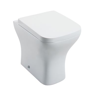 Harbour Alchemy Back to Wall Toilet & Soft Close Seat - 494mm Projection