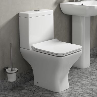 Harbour Alchemy Toilet & Wafer Thin Soft Close Seat - 600mm Projection