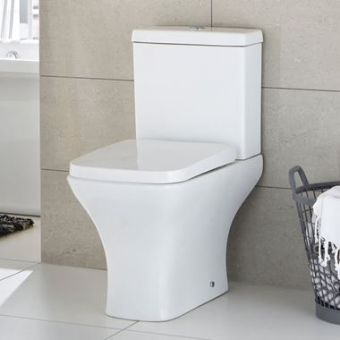 Harbour Alchemy Short Projection Toilet & Soft Close Seat - 600mm Projection