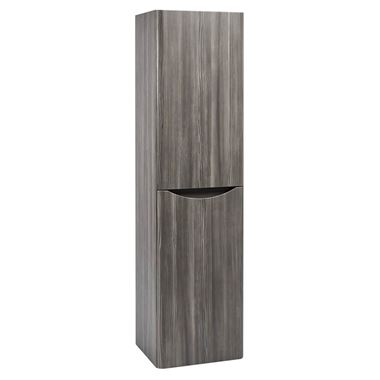 Harbour Clarity 1500mm Tall Wall Mounted Cabinet - Avola Grey