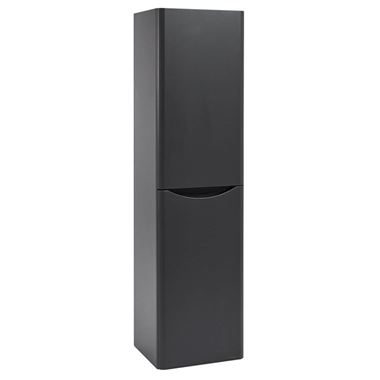 Harbour Clarity 1500mm Tall Wall Mounted Cabinet - Matt Graphite Grey