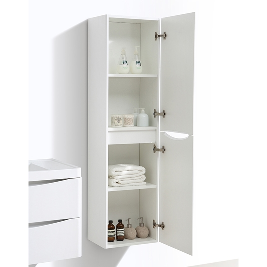 Harbour Clarity 1500mm Wall Mounted, White Storage Furniture Uk