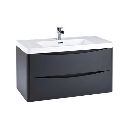 55 Aesthetic Bathroom Vanity Units 900mm, Mode Meier Grey Wall Hung Vanity Unit And Basin 600mm