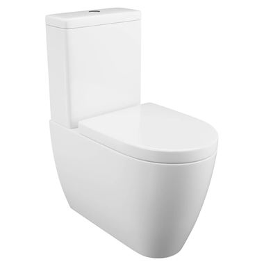 Harbour Clarity Fully Back to Wall Toilet & Soft Close Seat - 660mm Projection