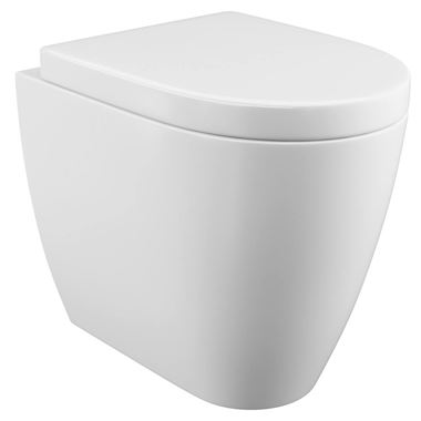 Harbour Clarity Back to Wall Toilet & Soft Close Seat - 520mm Projection