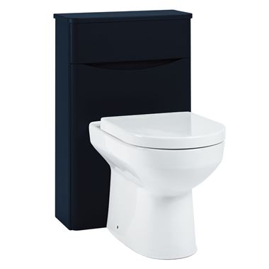 Harbour Clarity 500mm Back to Wall WC Unit - Indigo Blue