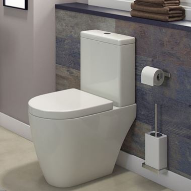 Harbour Clarity Toilet & Soft Close Seat - 654mm Projection