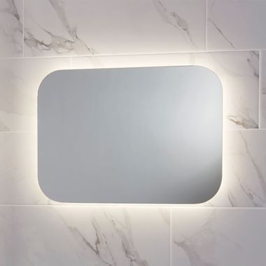Harbour Clarity LED Mirror with Demister Pad - 500 x 700mm