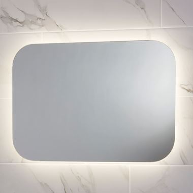 Harbour Clarity LED Mirror with Demister Pad - 600 x 1200mm