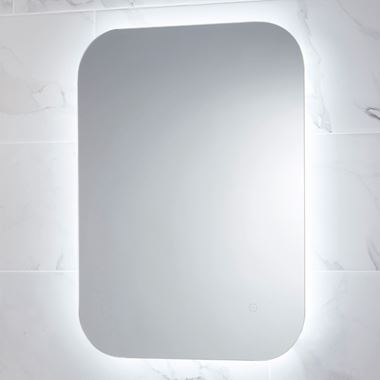 Harbour Clarity LED Mirror with Demister Pad - 600 x 800mm
