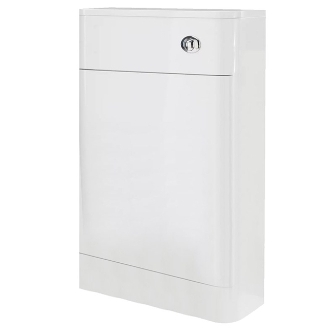 Harbour Grace 550mm Back to Wall Toilet Unit - White