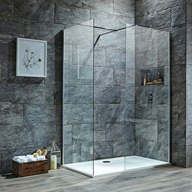 Harbour i8 8mm 2m Tall Easy Clean Wetroom 2 Panel Pack