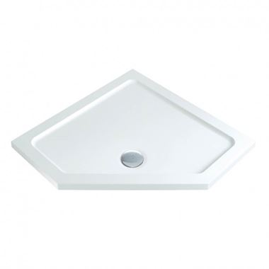 Harbour Icon Pentagonal Shower Tray 900 x 900 mm