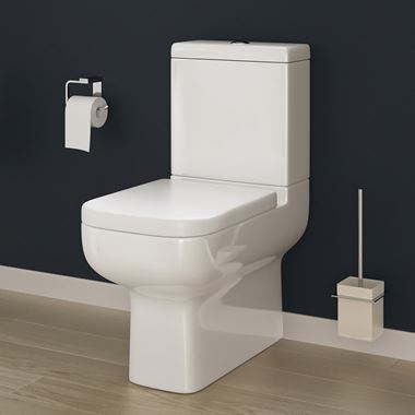 Harbour Icon Close to Wall Toilet & Soft Close Seat - 600mm Projection