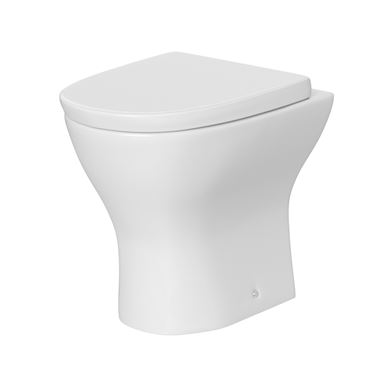 Harbour Identity Back to Wall Toilet & Soft Close Seat - 490mm Projection