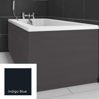 Harbour Indigo Blue 800mm Vinyl Wrap Bath End Panel