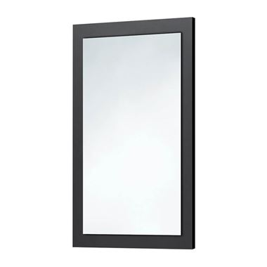 Harbour Mirror with Anthracite Grey Frame - 900 x 600mm