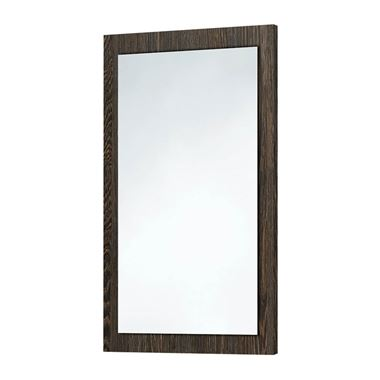 Harbour Mirror with Dark Oak Frame - 800 x 500mm