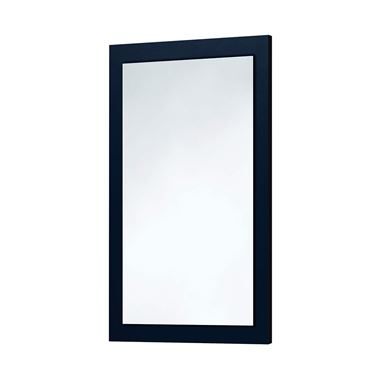 Harbour Mirror with Indigo Blue Frame - 900 x 600mm