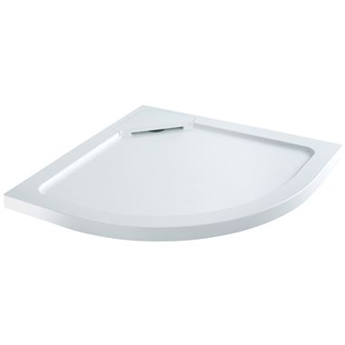 Harbour Left Hand Quadrant Hidden Waste Shower Tray - 1200 x 900mm