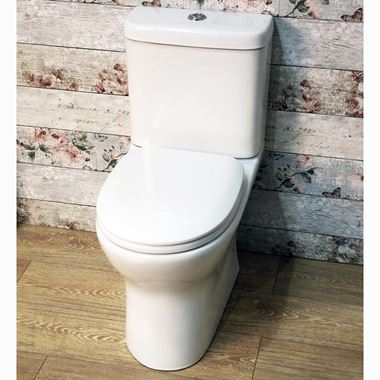 Harbour Rimless Toilet & Soft Close Seat - 645mm Projection