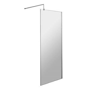 Harbour Status 8mm Easy Clean Wetroom Screen & Support Arm - 700mm