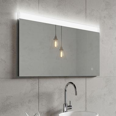 HIB AlpineSteam Free LED Illuminated Mirror - 1000 x 600mm