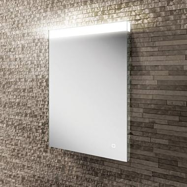 HIB Alpine Steam Free LED Illuminated Mirror - 700 x 500mm