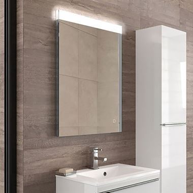 HIB Alpine Steam Free LED Illuminated Mirror - 600 x 800mm