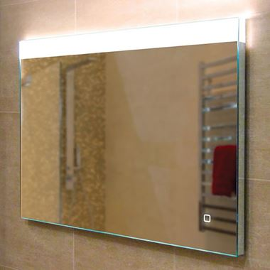 HIB Alpine Steam Free LED Illuminated Mirror - 800 x 600mm