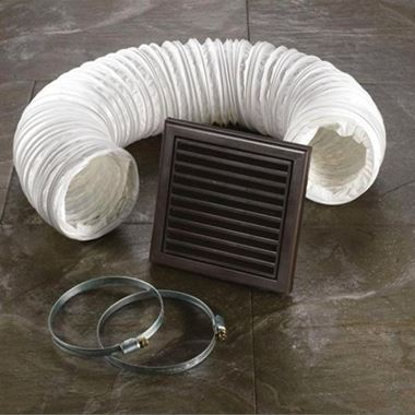 HIB Ceiling or Wall Fan Accessory Kit - Brown