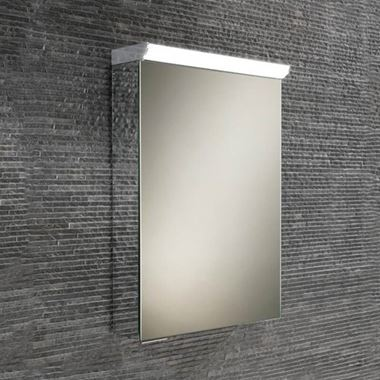 HiB Flux/Spectrum LED Illuminated Mirror Cabinet with Mirrored Sides - 400 x 600 & 500 x 700mm