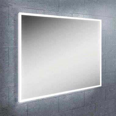 HiB Globe Horizontal LED Illuminated Steam Free Mirror - 600mm