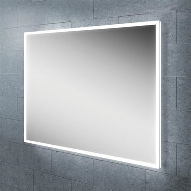 HiB Globe Horizontal LED Illuminated Steam Free Mirror - 600 & 1200mm