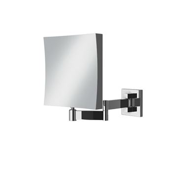 HIB Helix Square Magnifying Mirror - 170 x 170mm