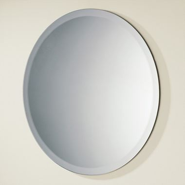HiB Rondo Round Bathroom Mirror - 500mm