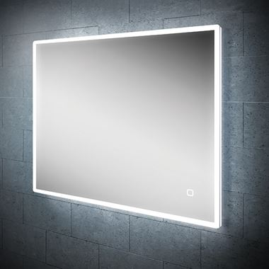 HIB Vega Landscape LED Illuminated Ambient Mirror - 800 x 600mm