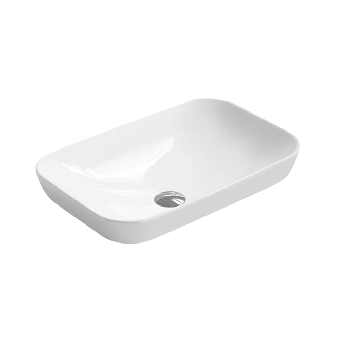 Hudson Reed 515mm Rectangular Countertop Basin