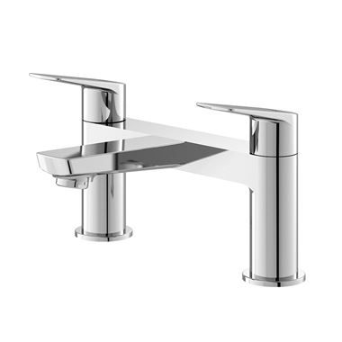 Hudson Reed Drift Round Deck Mounted Bath Filler Tap