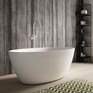 Hudson Reed Grace Freestanding Bath & Waste - 1500 x 760mm