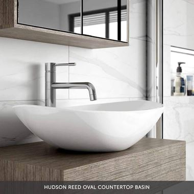 Hudson Reed Oval Countertop Basin