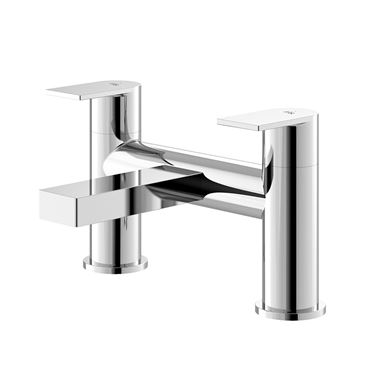 Hudson Reed Sottile Round Deck Mounted Bath Filler Tap