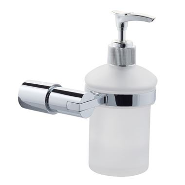Hugo Glass Soap Dispenser & Holder