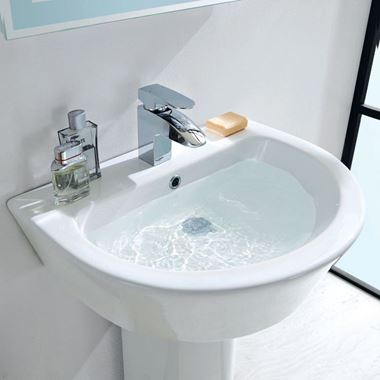 Imex Arco Semi Pedestal Basin - 2 Size Options