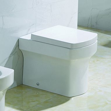 Imex Dekka Back to Wall Toilet with Luxury Seat - 540mm Projection