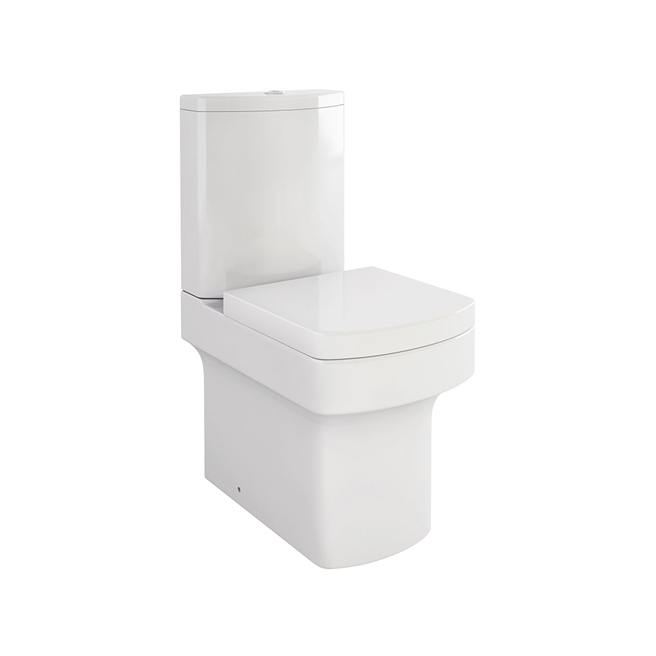 Imex Dekka Close Coupled Toilet with Luxury Seat - 610mm Projection