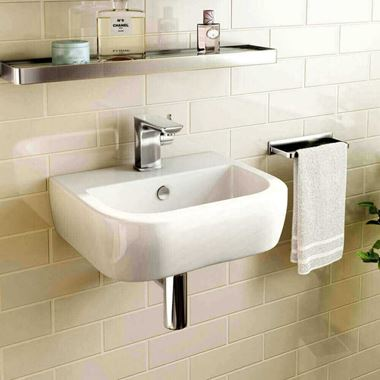 Imex Essence 400mm Wall Hung Cloakroom Basin