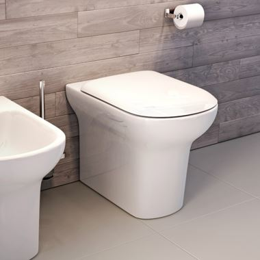 Imex Grace Comfort Height Toilet with Luxury Seat Options - 540mm Projection