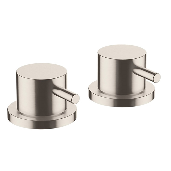 Inox Brushed Stainless Steel Deck Panel Valves