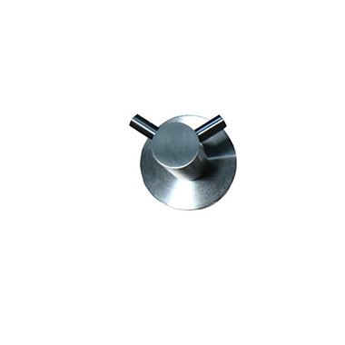 Inox Brushed Stainless Steel Double Robe Hook